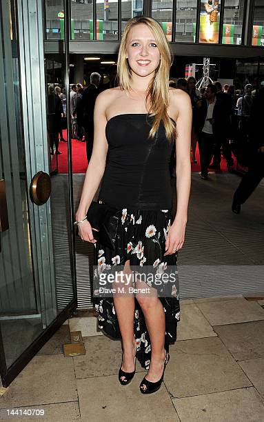 Emily Head attends the World Premiere of 'The Dictator' at the Royal Festival Hall on May 10 2012 in London England