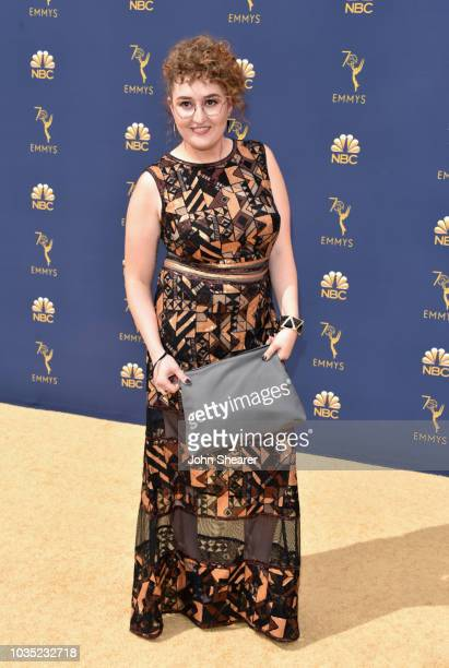 Emily Heller attends the 70th Emmy Awards at Microsoft Theater on September 17 2018 in Los Angeles California