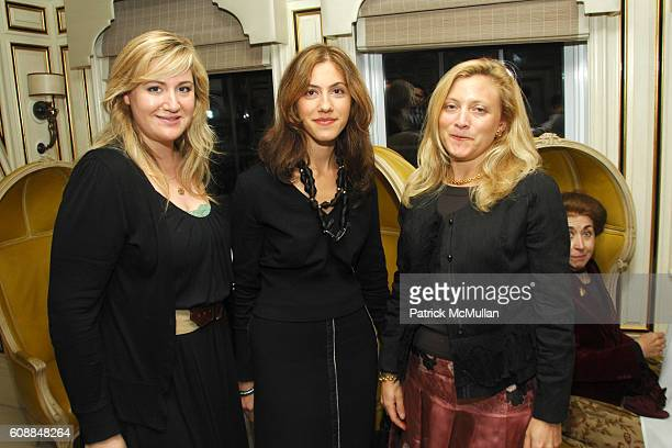 Emily Horowitz Ama Liakermitsis and Kimberly Flasker attend BERGDORF GOODMAN and MICHELLE ONG Host the Premiere of Her Jewelry Collection CARNET at...