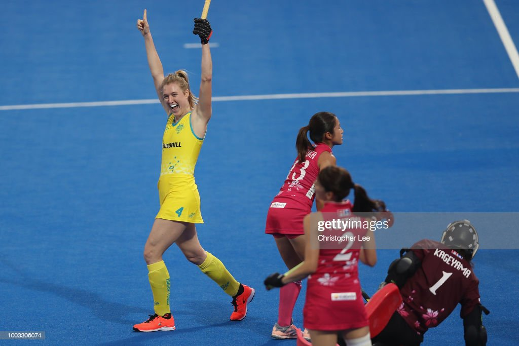 Australia v Japan - FIH Womens Hockey World Cup