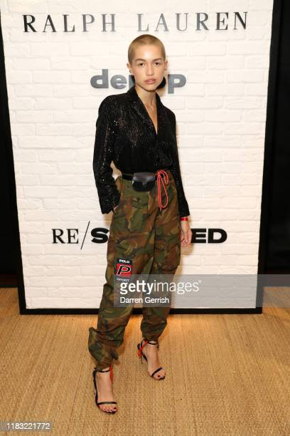 Emily J O'Donnell attends as Ralph Lauren and Depop celebrate the launch of Re/Sourced on October 24 2019 in London England