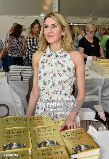 Emily Jane Fox attends Authors Night At East Hampton Library on August 11 2018 in East Hampton New York