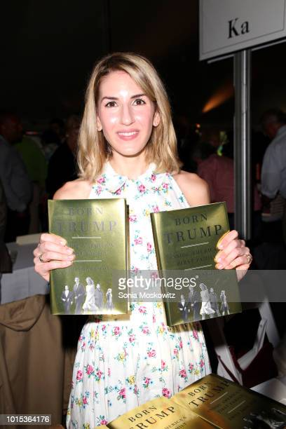 Emily Jane Fox attends the 14th Annual Author's Night to benefit the East Hampton Library on August 11 2018 in East Hampton New York