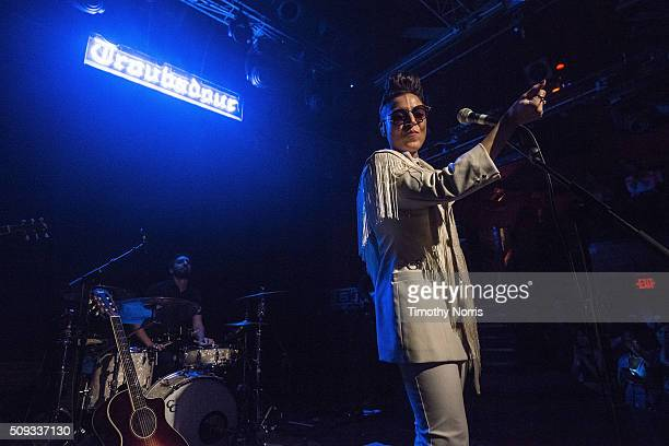 Emily King performs at The Troubadour on February 9 2016 in West Hollywood California
