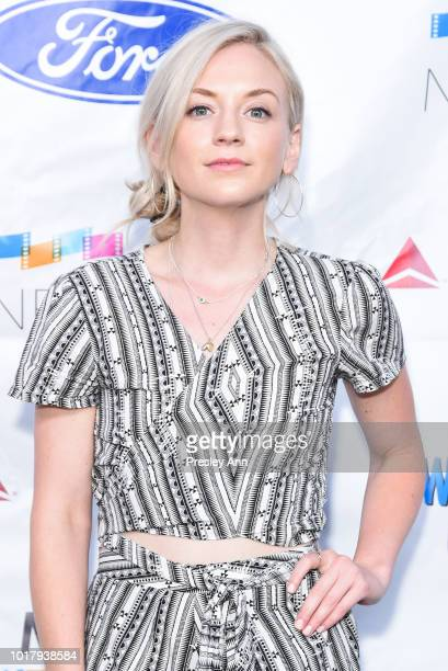 Emily Kinney attends MPTF's Annual NextGen Summer Party at Paramount Pictures on August 16 2018 in Los Angeles California