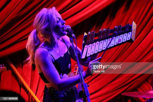 Emily Kinney performs at Public Arts on October 11 2018 in New York City