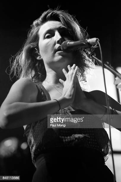 Emily Kokal of Warpaint opens the show during Depeche Mode's Global Spirit Tour at Madison Square Garden on September 9 2017 in New York City
