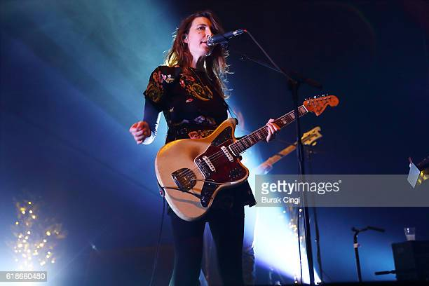 Emily Kokal of Warpaint performs at The Roundhouse on October 27 2016 in London England