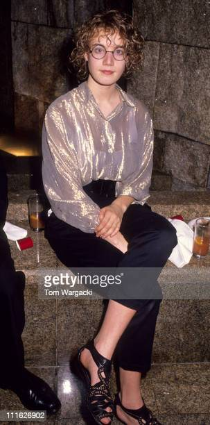 Emily Lloyd during Emily Lloyd at Party for First Night of Miss Saigon September 8 1989 in London Great Britain