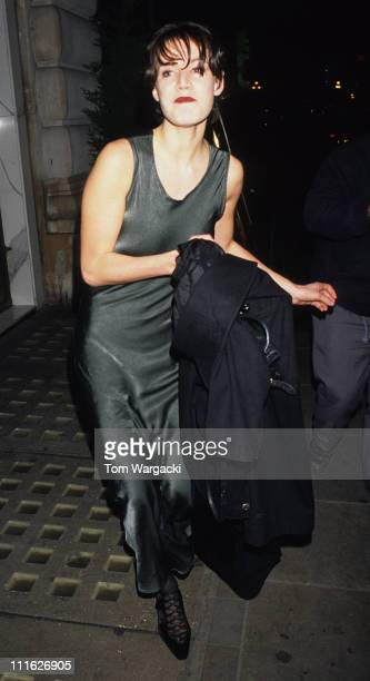 Emily Lloyd during Emily Lloyd at Strange Days After Party November 2 1995 at Cafe Royal in London Great Britain