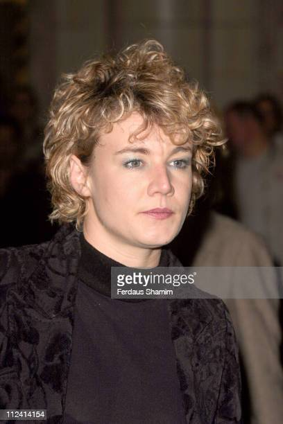 Emily Lloyd during Murderous Instincts Opening Night Arrivals at The Savoy Theatre in London Great Britain