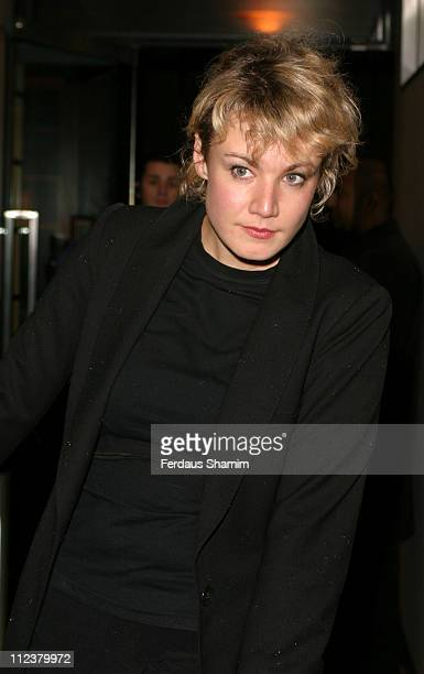 Emily Lloyd during Sumoson Private VIP Christmas Party at Sumoson Restaurant in London Great Britain