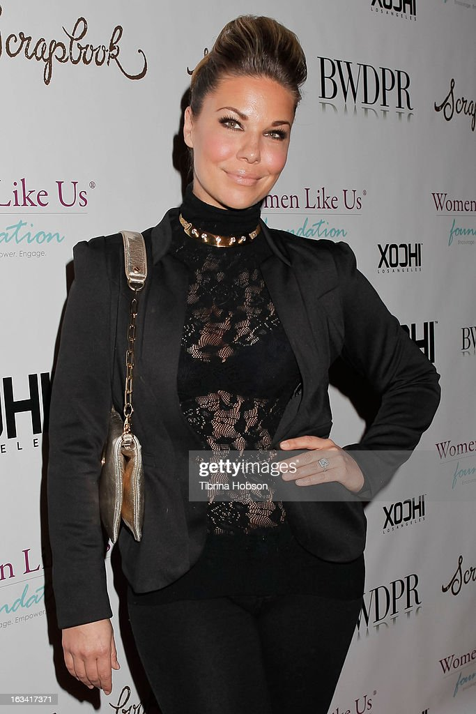Emily Loftiss attends the pre-LAFW launch party in support of the Women Like Us Foundation at Lexington Social House on March 8, 2013 in Hollywood, California.