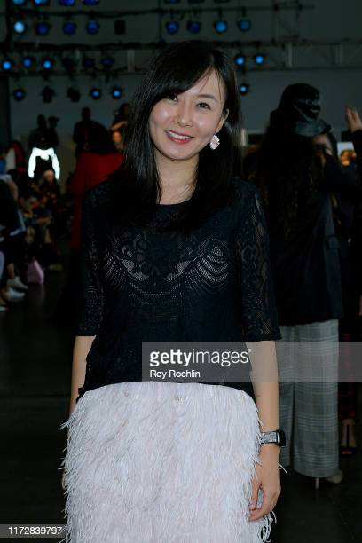 Emily Ma attends Global Fashion Collective front row during New York Fashion Week The Shows on September 06 2019 in New York City