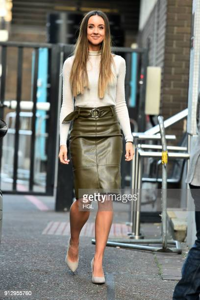 Emily Macdonagh seen at the ITV Studios on February 1 2018 in London England