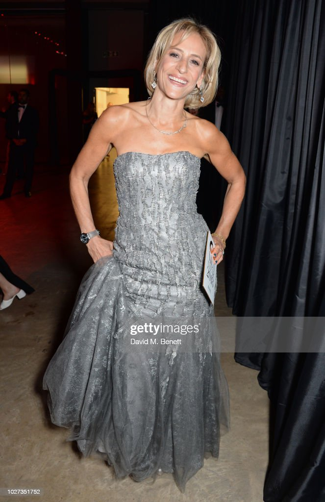 Emily Maitlis attends the GQ Men of the Year Awards 2018 in