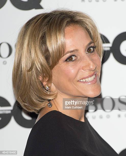 Emily Maitlis attends the GQ Men of the Year awards at The Royal Opera House on September 2 2014 in London England
