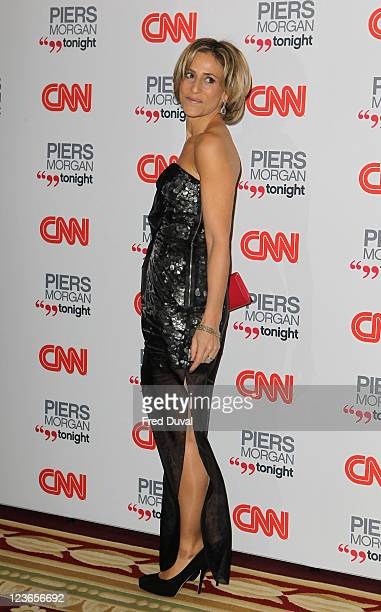 Emily Maitlis attends the launch of 'Piers Morgan Tonight' on CNN at Mandarin Oriental Hyde Park on December 7 2010 in London England