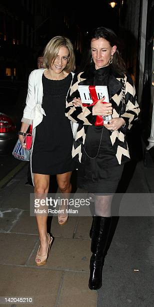 Emily Maitlis attends the launch of Spectator Life a new quarterly lifestyle magazine from The Spectator at Asprey's on March 28 2012 in London...