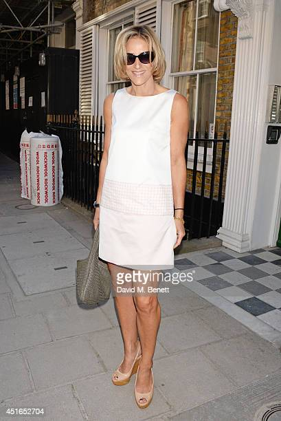 Emily Maitlis attends The Spectator Summer Party at Spectator House on July 3 2014 in London England