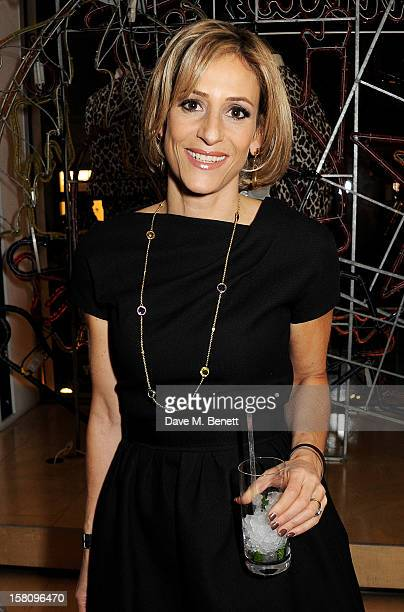 Emily Maitlis attends the switchingon of the Stella McCartney Bruton Street store Christmas lights on December 10 2012 in London England