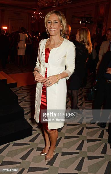 Emily Maitlis attends the Veuve Clicquot Business Woman Award at The Ballroom of Claridge's on May 9 2016 in London Englan