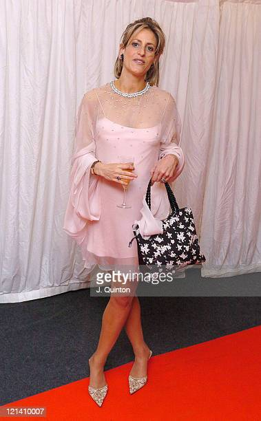 Emily Maitlis during ITV's 'Hell's Kitchen' May 27 2004 Arrivals at Brick Lane in London Great Britain