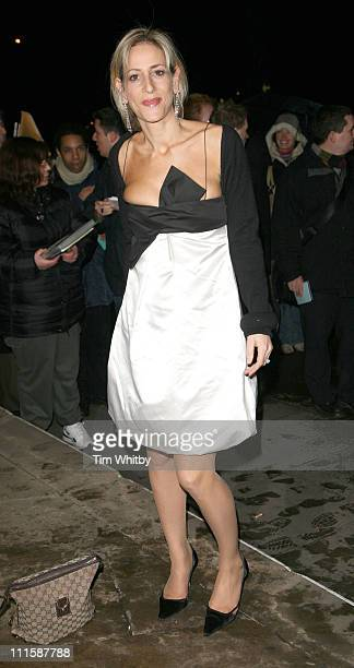 Emily Maitlis during Royal Television Society Programme Awards Outside Arrivals at Grosvenor House Hotel in London Great Britain