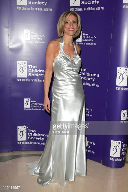 Emily Maitlis during The 2007 Children's Society Annual Ball at Claridge's Hotel in London United Kingdom