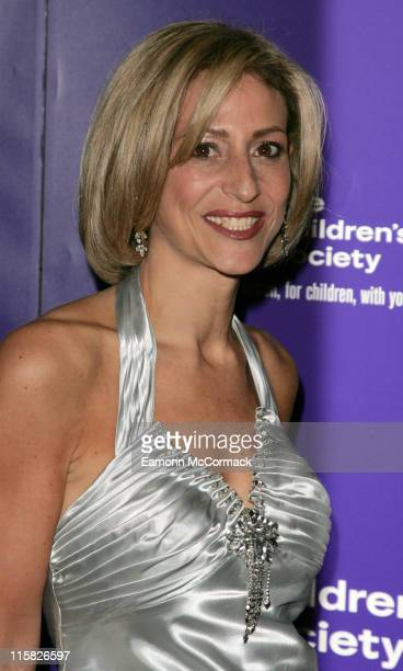 Emily Maitlis during The Children's Society Annual Ball May 16 2007 at Claridge's Hotel in London United Kingdom