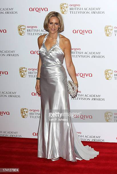 Emily Maitlis poses in the press room at the Arqiva British Academy Television Awards 2013 at the Royal Festival Hall on May 12 2013 in London England