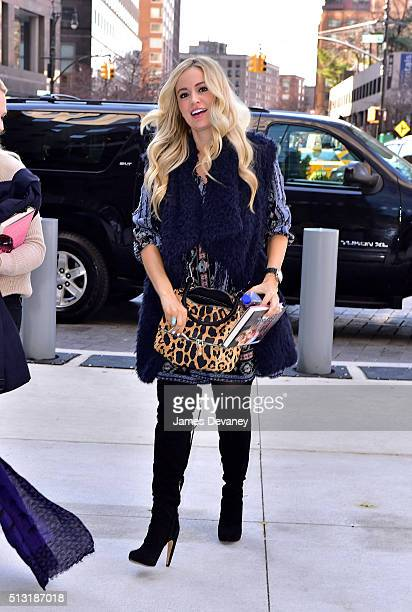 Emily Maynard seen on the streets of Manhattan on March 1 2016 in New York City