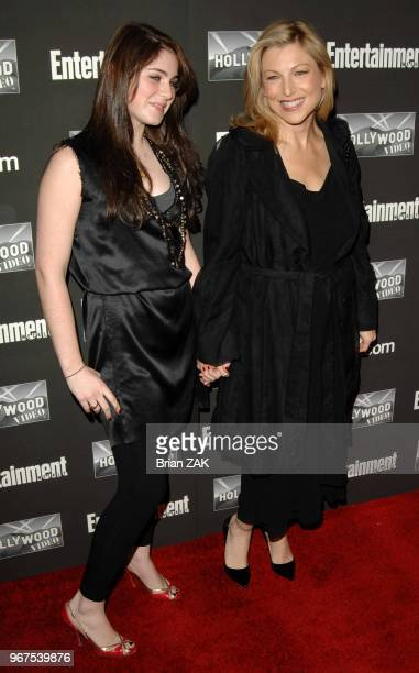 Emily McEnroe and Tatum O'Neal arrive to Entertainment Weekly's New York Oscar Viewing Party held at Elaine's New York City BRIAN ZAK