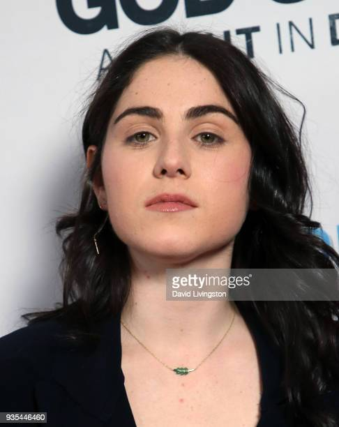 Emily McEnroe attends the God's Not Dead A Light in Darkness premiere at American Cinematheque's Egyptian Theatre on March 20 2018 in Hollywood...