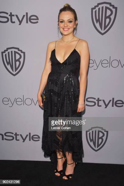 Emily Meade attends 19th Annual PostGolden Globes Party hosted by Warner Bros Pictures and InStyle at The Beverly Hilton Hotel on January 7 2018 in...