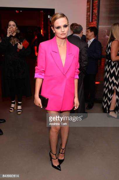 Emily Meade attends 'The Deuce' New York premiere after party at SVA Theater on September 7 2017 in New York City