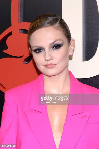 Emily Meade attends 'The Deuce' New York premiere at SVA Theater on September 7 2017 in New York City