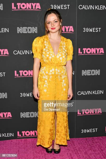 Emily Meade attends the 'I Tonya' New York Premiere at Village East Cinema on November 28 2017 in New York City