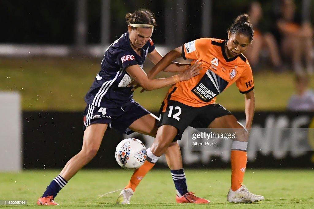 W-League Rd 2 - Brisbane v Melbourne : News Photo