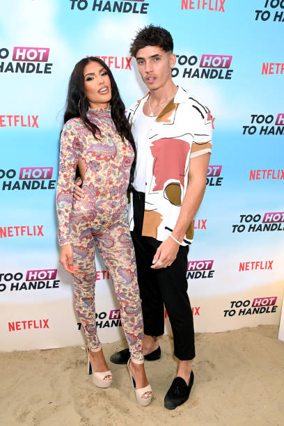 """GBR: """"Too Hot To Handle"""" Season 2 Special Screening - VIP Arrivals"""