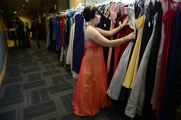 Prom Dress Exchange Pictures Getty Images