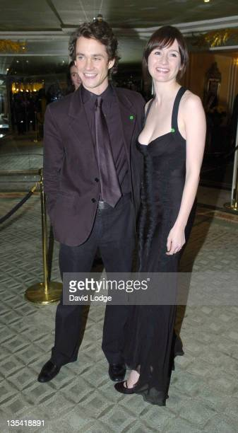 Emily Mortimer and guest during 2005 Awards of the London Film Critics Circle at The Dorchester in London, Great Britain.