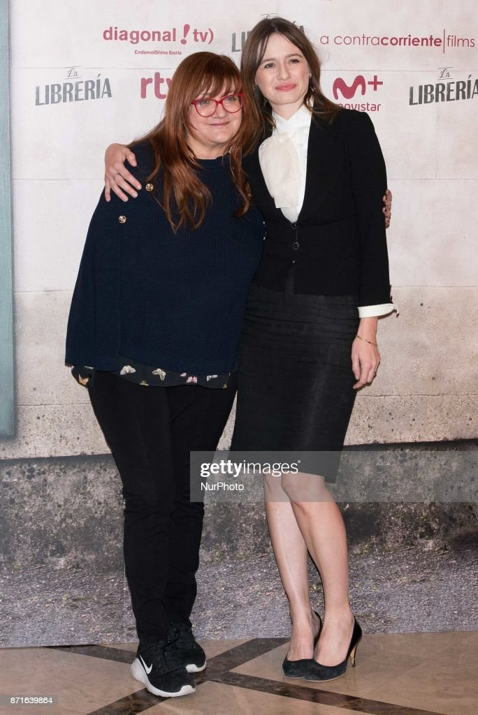 d4f080ba5551 Emily Mortimer and Isabel Coixet attends 'The Bookshop' Movie ...