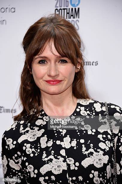 Emily Mortimer attends the 26th Annual Gotham Independent Film Awards at Cipriani Wall Street on November 28, 2016 in New York City.