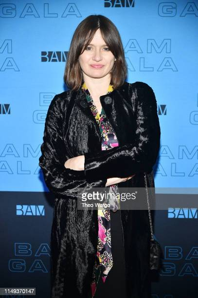 Emily Mortimer attends the BAM Gala 2019 on May 15 2019 in New York City