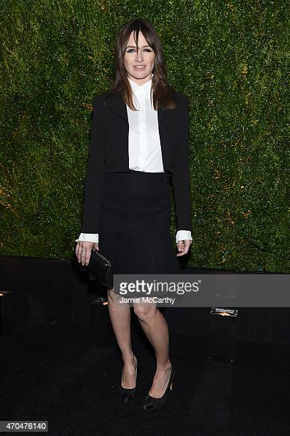 Emily Mortimer attends the Chanel Dinner during the 2015 Tribeca Film Festival at Balthazar on April 20 2015 in New York City