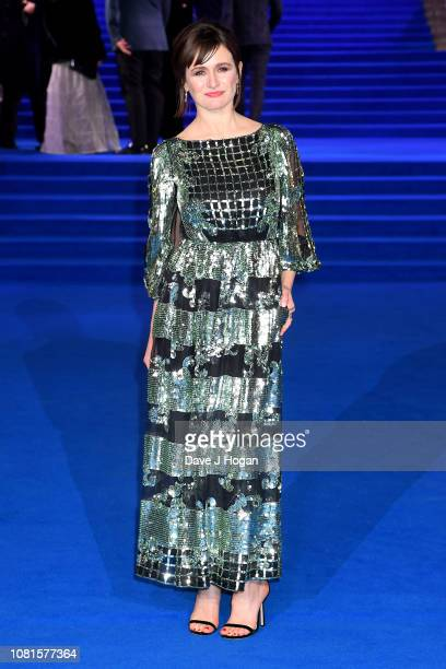 Emily Mortimer attends the European Premiere of Mary Poppins Returns at Royal Albert Hall on December 12 2018 in London England