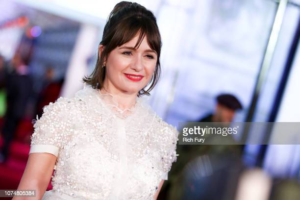 Emily Mortimer attends the Premiere Of Disney's 'Mary Poppins Returns' at El Capitan Theatre on November 29, 2018 in Los Angeles, California.