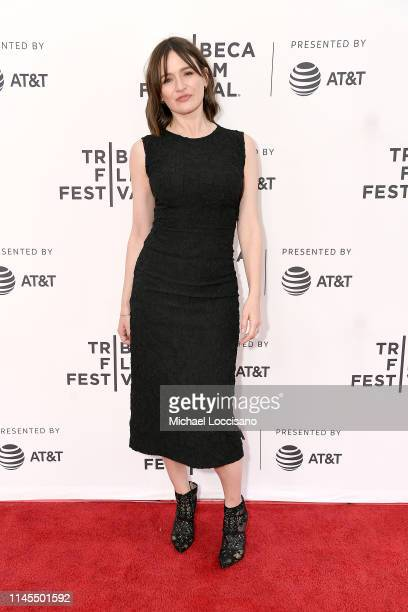 """Emily Mortimer attends the premiere of """"Good Posture"""" during the 2019 Tribeca Film Festival at SVA Theater on April 27, 2019 in New York City."""