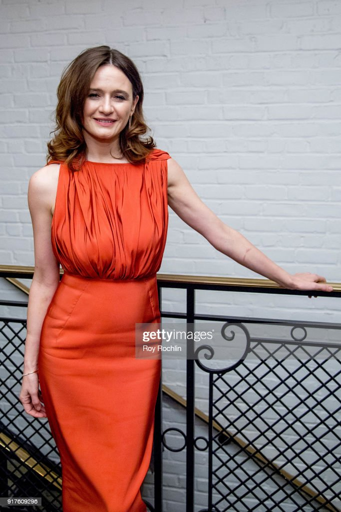Emily Mortimer attends the screening after party for 'The Party' hosted by Roadside Attractions and Great Point Media with The Cinema Society at Metrograph on February 12, 2018 in New York City.